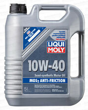 Liqui Moly MoS2 Semi-Synthetic Anti-Friction Super Motor Oil - 5 liters - 10w40