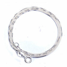 BEST SELLER! SALE! SOLID .925 STERLING SILVER Fancy BOX Link Chain 18""