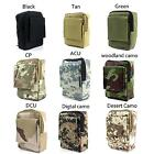 Tactical Molle Pouch Utility Gadget EDC Pouch Belt Loop Waist Tool Bag Medium Y