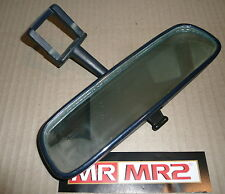 Toyota MR2 MK2 Blue Interior Rear View Roof Mirror - Mr MR2 Used Parts 1989-1999