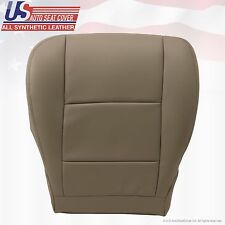 2001-2007 TOYOTA SEQUOIA Driver Bottom All Synthetic Leather Seat Cover Tan