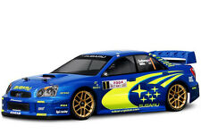 HPI Racing Subaru Impreza WRC 2004 Monte Carlo Body Shell 190mm 17205