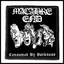 MACABRE END - Consumed by Darkness   --- Patch / Aufnäher ---