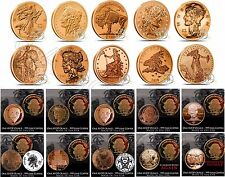 Complete Set 20 Zombie Coins Apocalypse Z Note  Zombucks .999 Fine Art Copper B