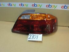 99 00 01 Acura TL PASSENGER Side Tail Light Used Rear Lamp #2701-T
