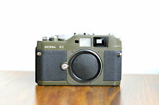 Voigtlander BESSA R2  Olive   Leica M mount Rangefinder Camera   - Made in Japan