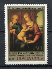 30373) RUSSIA 1983 MNH** Holy Family by Raphael 1v.