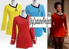 FREE WW SHIP Star Trek Original Series LIEUTENANT UHURA Uniform RED Costume SALE