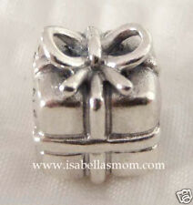 NEW Authentic PANDORA 925 Silver GIFT BOX~Birthday PRESENT Charm~Bead 790300