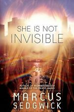 She Is Not Invisible by Marcus Sedgwick (2014, Hardcover)