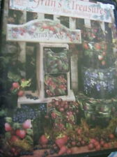 Gran's Treasures Painting Book -Stallcup- Shells, Lighthouses, Fruits, Flowers,