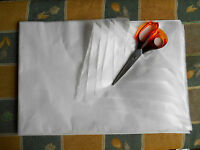 "Pattern Tracing Tissue Paper 6 Large White Sheets each 20"" x 30"" / 500mm x 700mm"