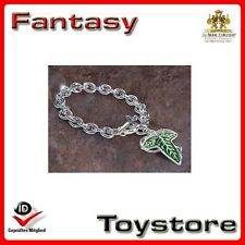 Lord of the Rings The Elven Brooch Charm Bracelet  Noble Collection