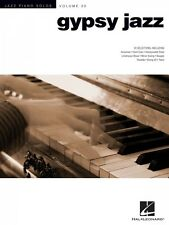 Gypsy Jazz Sheet Music Jazz Piano Solos Series Volume 20 Piano Solo So 000307289