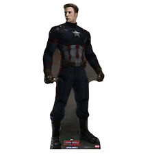 CAPTAIN AMERICA Civil War Chris Evans v1 CARDBOARD CUTOUT Standee Standup F/S