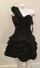 NWT Pronovias Black Prom Dress Jovani Cocktail Quinceanera $650