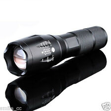 New 8000Lumen LED 18650/AAA Flashlight Zoomable Torch Focus Flashlight Lamp US