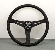 Nardi Personal Classic Steering Wheel - 390mm - Black Leather with Black Spokes