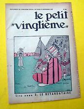 TINTIN HERGE PETIT VINGTIEME 1931 NO 38 BON ETAT