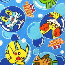Pokemon Cotton Towel Fabric Remnant 50x70cm PC890