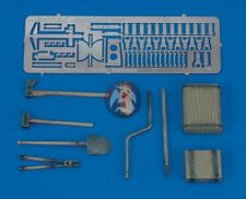 Royal Model 1/35 Panther & Jagdpanther Tank Tools & Holders Set WWII (w/PE) 457