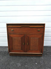Large Mid-Century Nightstand / End Table / Side Table with pull out Tray   6648