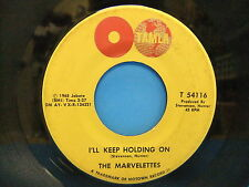 The Marvelettes I'll Keep Holding On / No Time For Tears 1965 45 Tamla T 54116