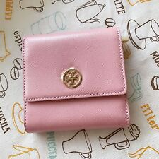 Tory Burch Robinson Saffiano Leather Trifold French Wallet NWT