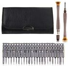 25 in 1 Screwdriver Wallet Repair Tool Set For iPhone Cellphone Electronics PC