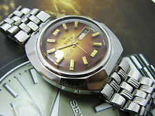 Rare Vintage Titoni Cosmo 99 brown Dial Automatic Gents.