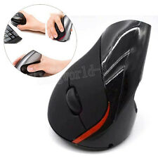 Durevole Wireless Ergonomico Topo Ottico USB Mouse Verticale Senza Per Laptop PC