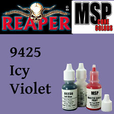 ICY VIOLET 9425 - MSP 15ml 1/2oz paint pot peinture figurine REAPER MINIATURE