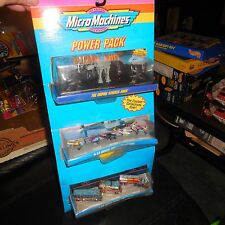 1994 GALOOB MICRO MACHINE POWER PACK STAR WARS HOVER FORCE HEAVY METAL BUS & RV