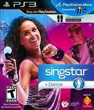 Sony Playstation 3 PS3 Game SINGSTAR DANCE - (2) Microphones Included