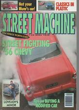 STREET MACHINE MAGAZINE  APRIL 1992 VOL.13 NO.12  '56 CHEVY    LS