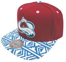 Mitchell & Ness Colorado Avalanche Aztec Snapback EU157 Caps Kappe Basecaps New