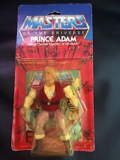 Action Figure Prince Adam From Master Of The Universe, Vintage 1983.