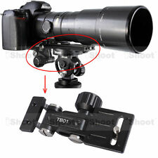 Telephoto Lens Bracket Long-Focus Support ④Quick Release Plate Tripod Mount Ring