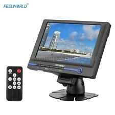 "FEELWORLD 7.0""inch HD Video DSLR Camera Monitor HDMI VGA AV Remote Control BW11"