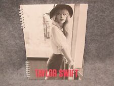 "Taylor Swift Official Spiral Notebook Standing Leaning In Hat  8 1/2"" x 11"" 2012"