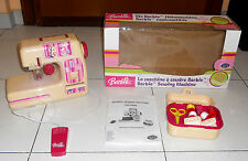 BARBIE LA MACCHINA DA CUCIRE Sewing Machine Lexibook Mattel 2005