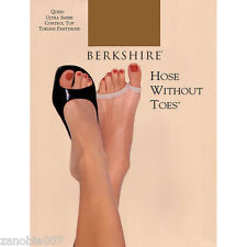Berkshire Ultra Sheer Control Top Toeless Utopia Pantyhose Size Quieen 5X-6X