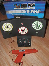 Vintage Quickfire Lightgun game Electroplay Made in England + 2 Light/Gun's 1979