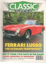 CLASSIC AND SPORTSCAR MAGAZINE December 1993 Ferrari Lusso AL