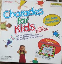 CHARADES FOR KIDS 2nd Edition - Ages 4 and up