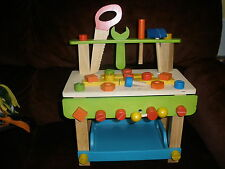 Maxim Ever Earth Work Bench Childrens Toy Wooden Preschool  Play Set 3+