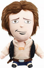 "STAR WARS JEUNE HAN-SOLO PARLANT 8"" PELUCHE MARQUE DISNEY THE FORCE AWAKENS"