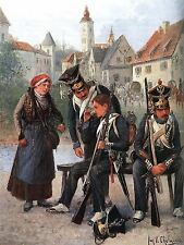 PAINTING POLISH ARMY CHELMINSKI 2ND INFANTRY REGIMENT WARSAW PRINT POSTER LF674