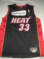 Alonzo Mourning Nike Miami Heat BASKETBALL RETRO JERSEY YOUTH LARGE SEWN