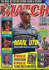 LEE SHARPE MAN UTD / NEWCASTLE / NOTTS FOREST Match Sep 16 1995